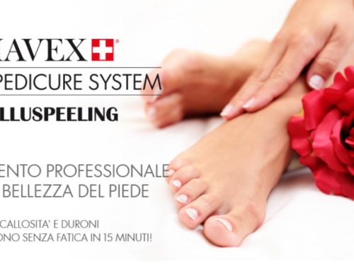 Trattamento professionale per la bellezza del piede